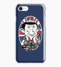 God save the king Bean iPhone Case/Skin