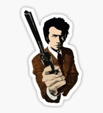Clint Eastwood as Dirty Harry | Movie Sticker
