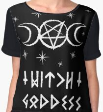 Witch Goddess Women's Chiffon Top