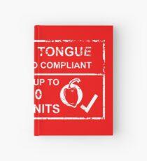 Asbestos Tongue Hardcover Journal