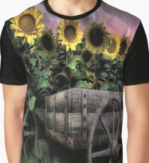 Sunflowers Abound  Graphic T-Shirt