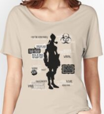 Mass Effect - Mordin Quotes Women's Relaxed Fit T-Shirt