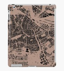 Amsterdam urban space map iPad Case/Skin