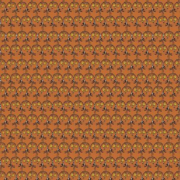 Funny owl pattern by d0g0d