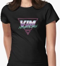 retro 2 Women's Fitted T-Shirt