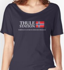 The Thing - Thule Station Antarctica Women's Relaxed Fit T-Shirt