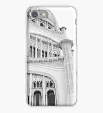 Bahai Temple Black and White 3 iPhone Case/Skin