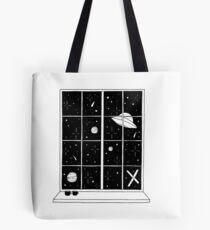 Fox Mulder's window Tote Bag