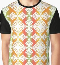 Beautiful and colorful seamless floral pattern  Graphic T-Shirt