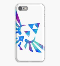 Skyward Sword Paint Blue iPhone Case/Skin