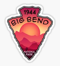 BIG BEND NATIONAL PARK TEXAS Chihuahuan Desert MOUNTAIN Chisos Mountains  5 Sticker