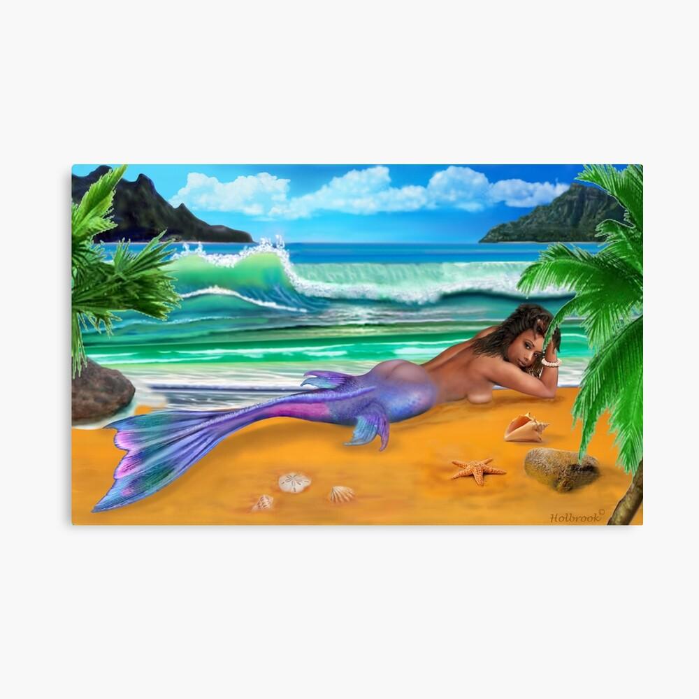 Enchanted Mermaid Leinwanddruck