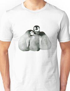 Triplet Penguins Unisex T-Shirt