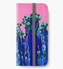 Cartoon Summer Cacti In The Pink  iPhone Wallet/Case/Skin