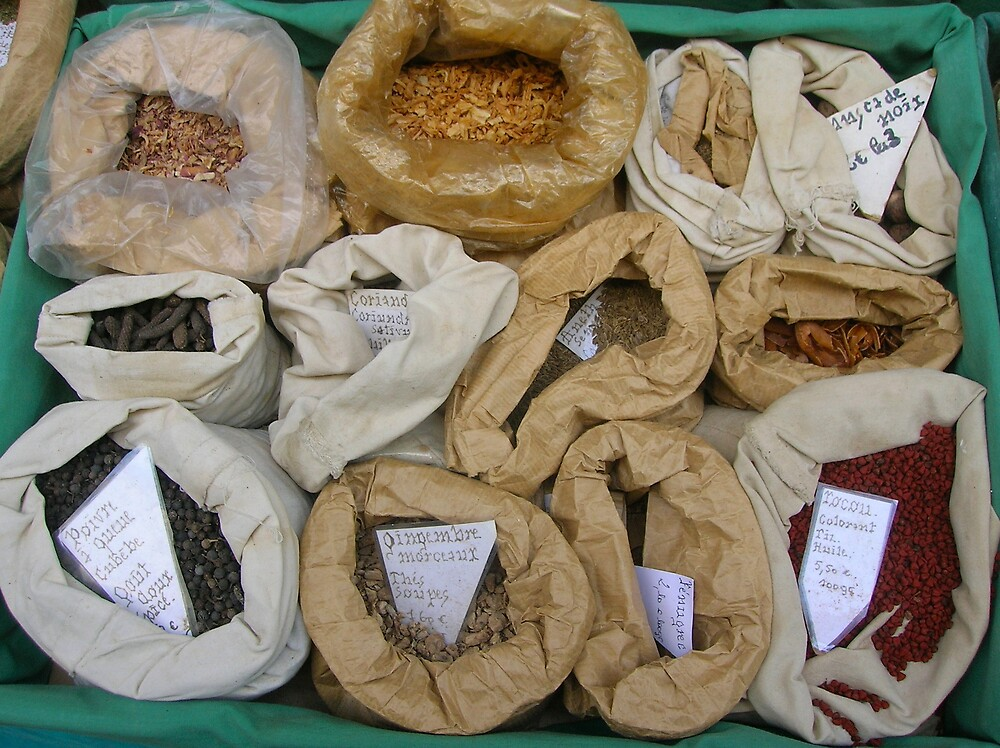 Spices from St. Antonin (Tarn) by marchk