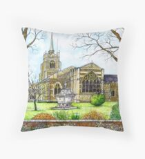 Chelmsford Cathedral Throw Pillow