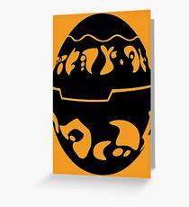 Black Precursor Orb : Jak and Daxter Greeting Card
