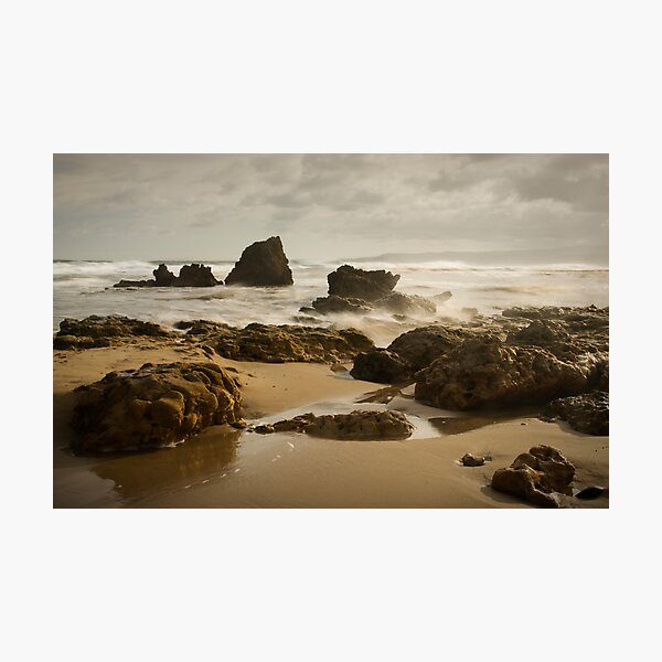 River Rocks, Aireys Inlet Photographic Print