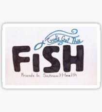 FISH FOUNDATION Sticker