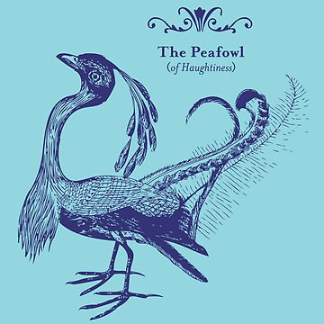 The Peafowl of Haughtiness by Brownpapertiger