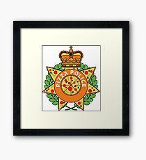 Pizza Police Framed Print