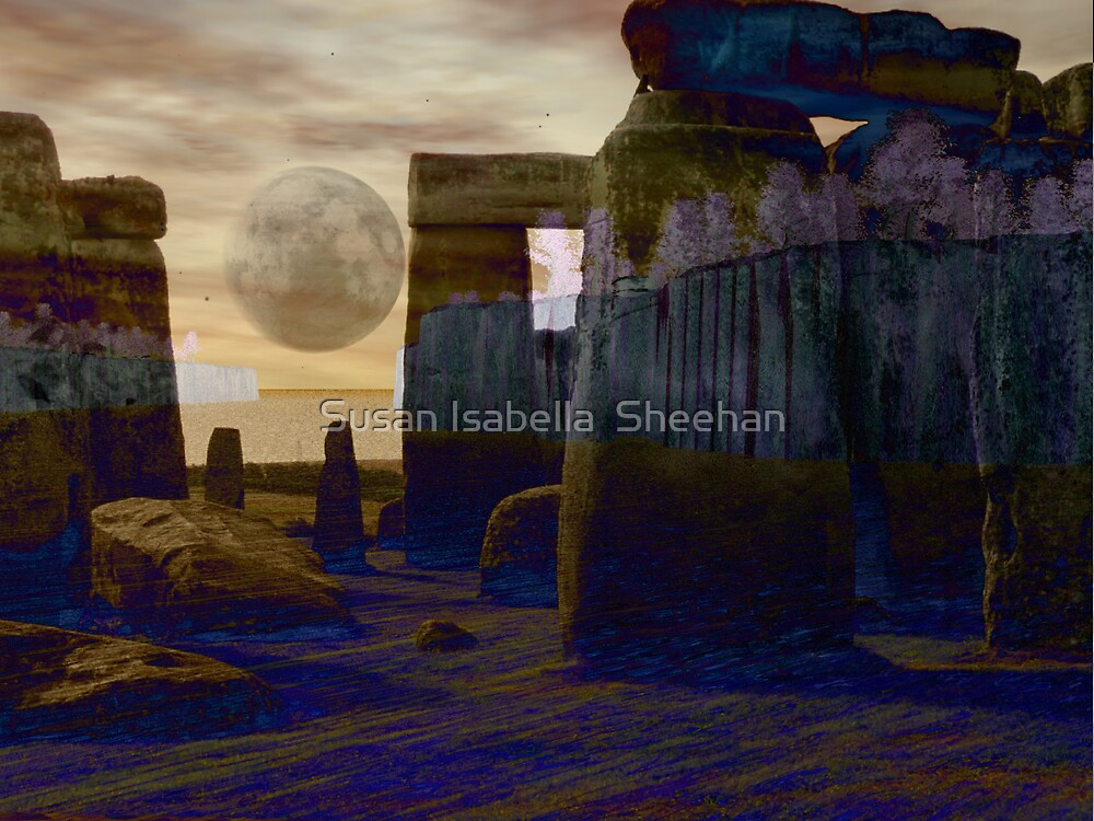 Now Cometh The Moon by Susan Isabella  Sheehan