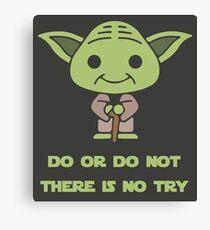 Yoda Wisdom Canvas Print