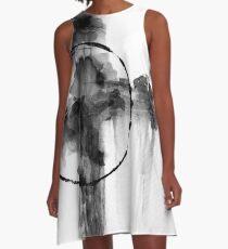 Black and White - bw14 A-Line Dress