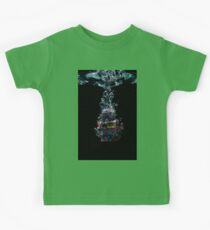 Robot in water Kids Tee