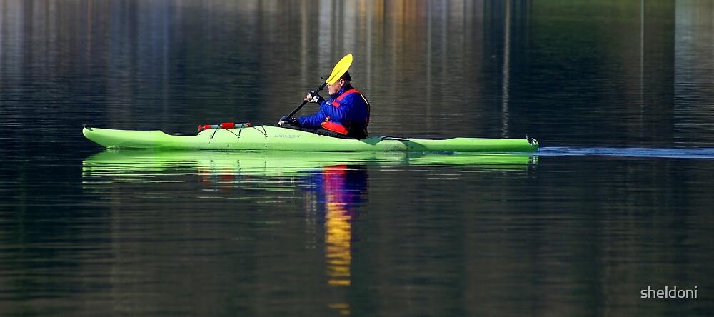 """Kayak"" by sheldoni"
