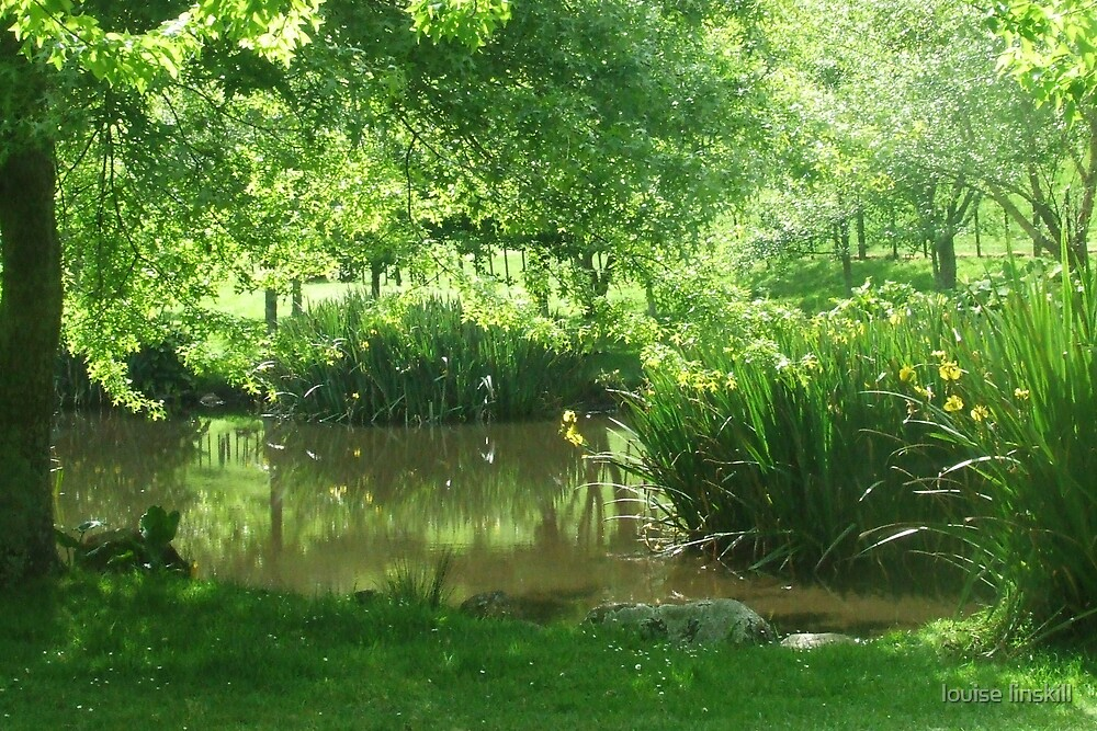 green,clean and tranquil by louise linskill