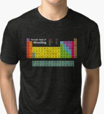 Periodic Table of Wrestling Tri-blend T-Shirt