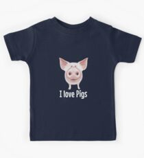 I love Pigs Kids Clothes