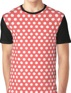 Polka over Light Red (small dots) Graphic T-Shirt