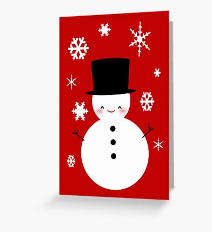 Frostie Greeting Card