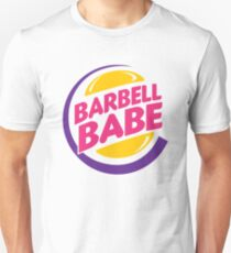 Barbell Babe Unisex T-Shirt