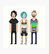 p-more pixels Art Print