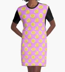 Lemon Graphic T-Shirt Dress