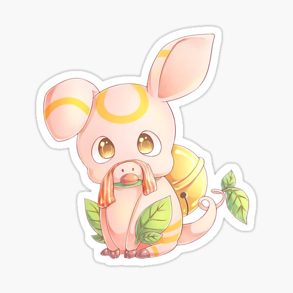 Floating Pig Sitting Pose - MeatPossible Sticker