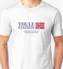The Thing - Thule Station Antarctica White Unisex T-Shirt