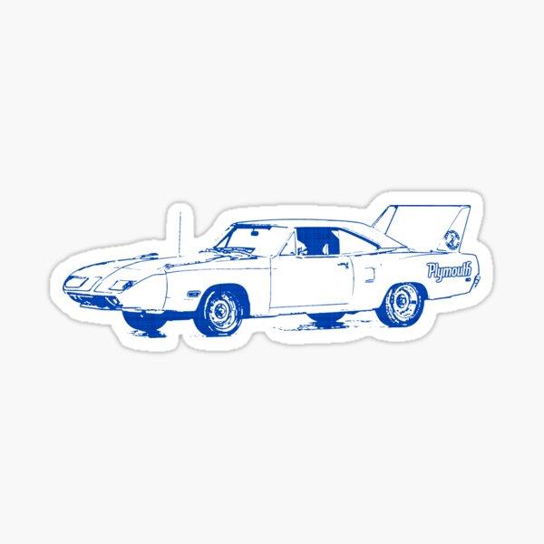 Road Runner MAGNET Beep Beep Plymouth Roadrunner Chrysler Die Cut Vinyl