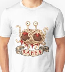Ramen. Flying spaghetti monster church Unisex T-Shirt