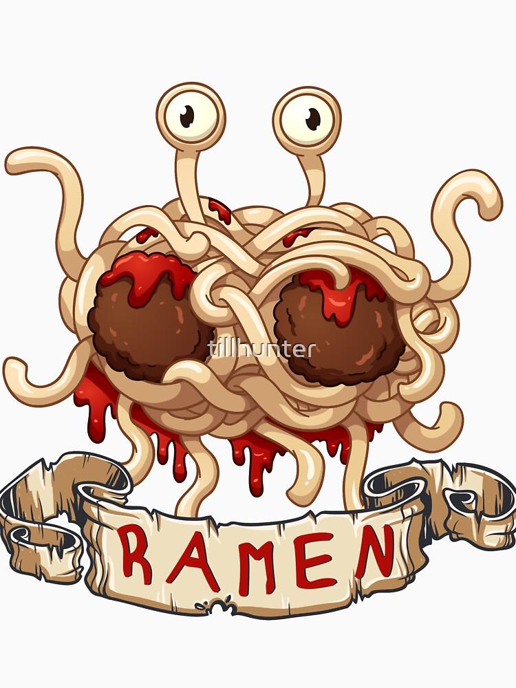 Ramen. Flying spaghetti monster church by tillhunter