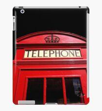 Red London Telephone Box iPad Case/Skin