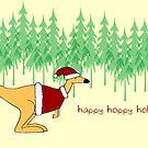Happy Hoppy Holidays by maiboo