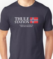 The Thing - Thule Station Antarctica Variant Unisex T-Shirt