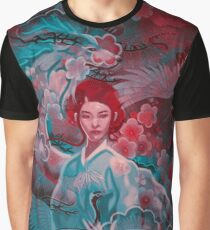 Girl and the dragon Graphic T-Shirt