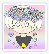 Flower Crown 2 Sticker