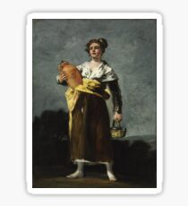 Francisco Goya - Milkmaid Sticker