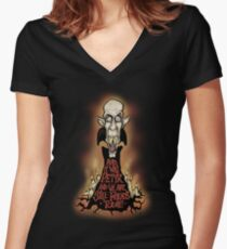 Petyr Women's Fitted V-Neck T-Shirt